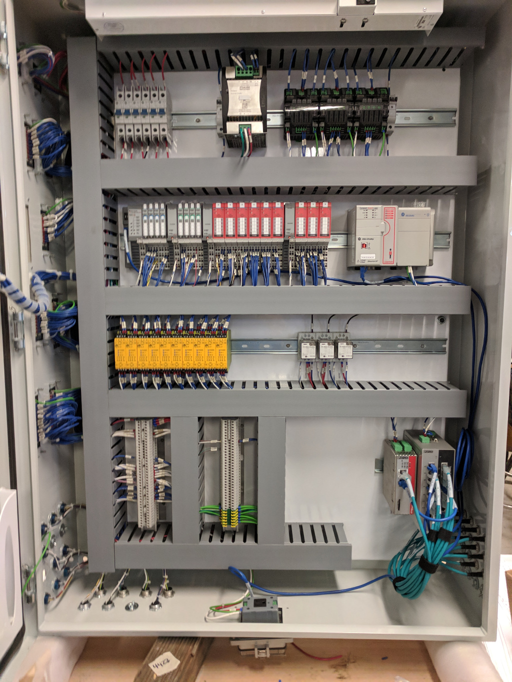zech engineering - panel build & machine wiring  zech engineering